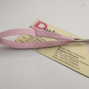 Pretty Pink Eyelash Spring Scissor