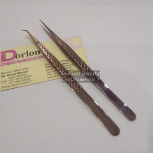 14cm Long Straight & 45˚ Eyelash Tweezers