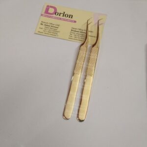 45˚ DEGREE ANGLED WITH AND 90˚ DEGREE ANGLED VOLUME TWEEZERS SET