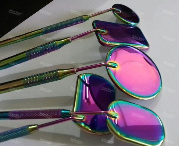 Rainbow Series Of Eyelash Mirrors