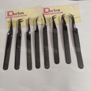 High Class Black Plasma Series Eyelash Tweezers
