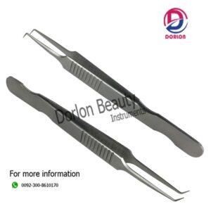 Stainless Steel Eyelash Tweezers