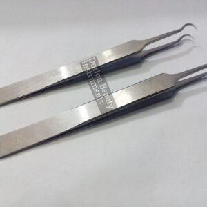 Hook Stainless Steel Tweezers
