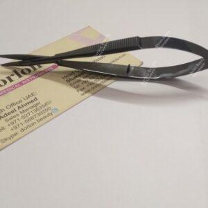 Black Plasma Eyelash Spring Scissor
