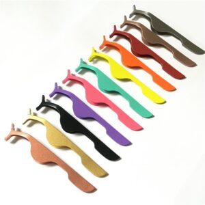 Bright Colored Eyelash Applicators