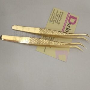 Ultra Precision Gold Plated Tweezers